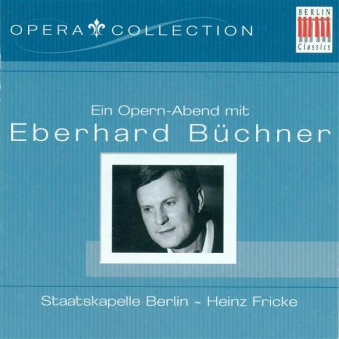 Opera Arias (tenor): Buchner, Eberhard - Handel, G.f. / Mozart, W.a. / Tchaikovksy, P.i. / Offenbach, J. / Massenet, J. / Verdi, G