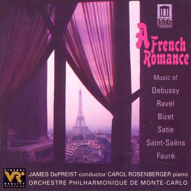 Orchestra Music - Bizet, G. / Debussy, C. / Saint-saens, C. / Ravel, M. / Faure, G. / Satie, E. (a French Romance)