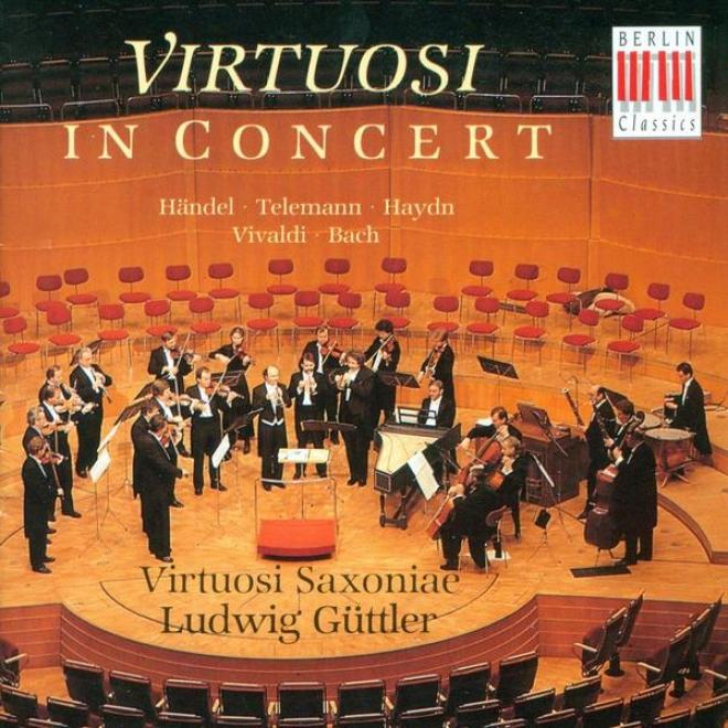 Orchestral uMic (german) - Handel, G.f. / Telemann, G.p. / Haydn, F.j. / Telemann, G.p. / Bach, J.s. (virtuosi Saxoniae, Guttler)
