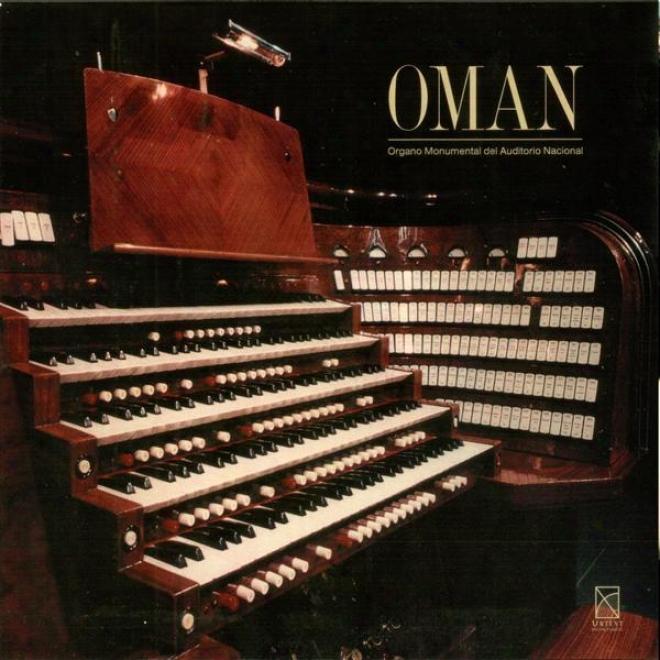 "Organ Concert: Urban, Victor �"" Bernal Jimenez, M. / Bach, J.s. / High-born, R. /  Widor, C.m. / Villasenor, J. / Scalratti, A. / Walth"