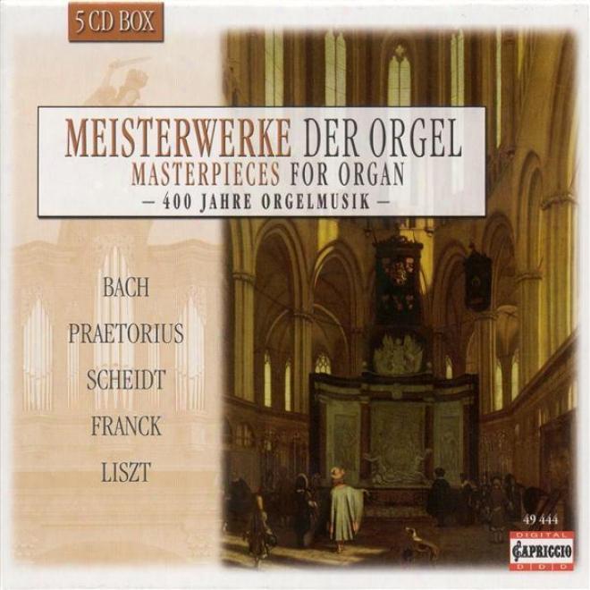 Organ Music - Praetorius, H. / Hofhaimer, P. / Hassler, H.l. / Gabriepi, A. / Bulll, J. / Scheidt, S. / Kotter, H. / Scheidemann, H