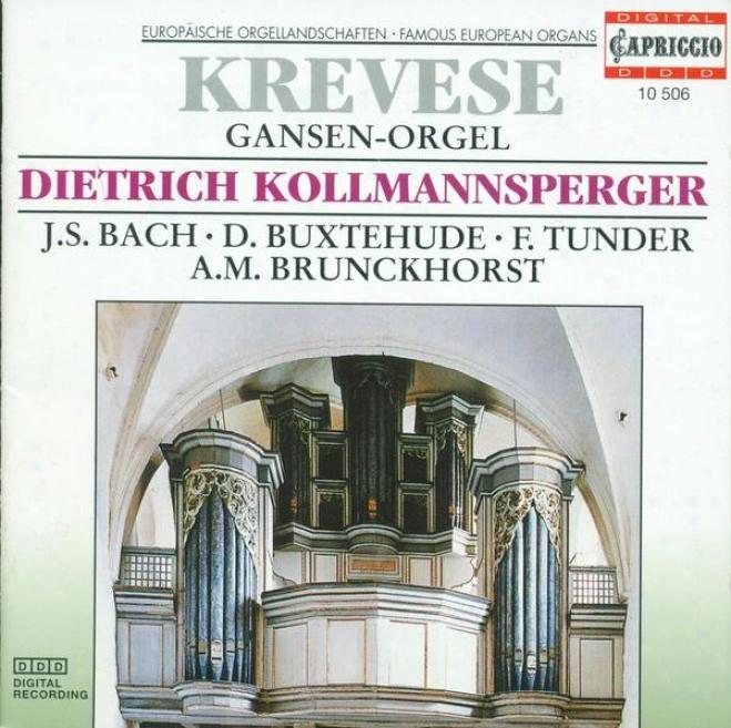 Organ Recital: Kollmansperger, Dietrich - Buxtehude, D. / Tunder, F. / Brunckhorst, A.m. / Bohm, G. / Bach, J.s.
