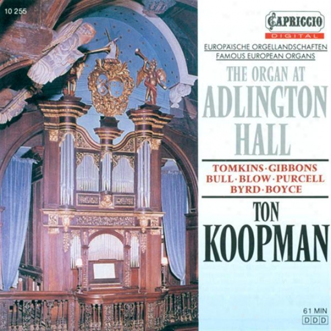 Organ Recital: Koopman, Ton - Bull, J. / Tomkins, T. / Gibbons, O. / Purcell, H. / Blow, J. / Byrd, W. / Boyce, W. (the Organ At A
