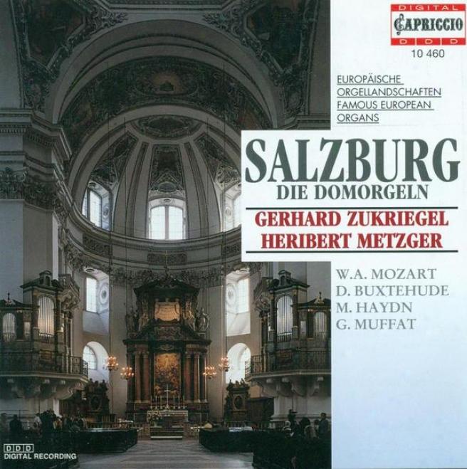Organ Recital: Metzger, Heribert / Zukriegel, Gerhard - Buxtehude, D. / Bruna, P. / Piazza, G. / Muffat, G. / Haydn, M. / Eberlin,