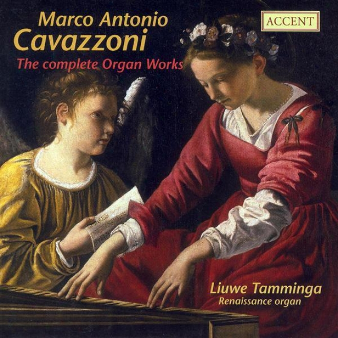 Organ Recital: Tamminga, Liuwe - Cavazzoni, M.a. / Fogliano, J. / Segni, G. / Veggio, C.