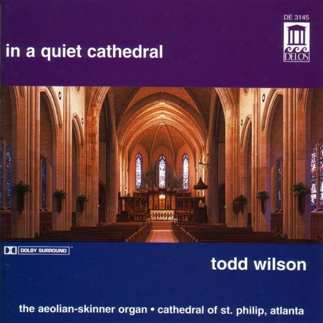 Organn Recital: iWlson, Todd - Brahms, J. / Tartini, G. / Vaughan Willliams, R. / Purvis, R. / Harris, W. / Bach, J.s. / Mozart, W.
