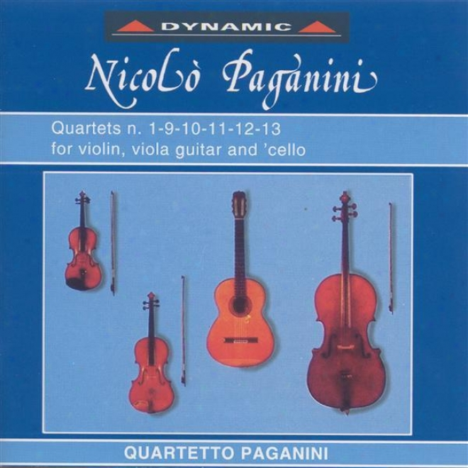 Paganini, N.: 15 Quartets For Strings And Guitar (the), Vol. 1 (paganini Quartet)