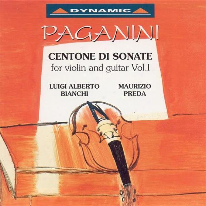 Paganibi, N.: Centone Di Sonate For Violin And Guitar, Vol. 1 (bianchi, Preda)