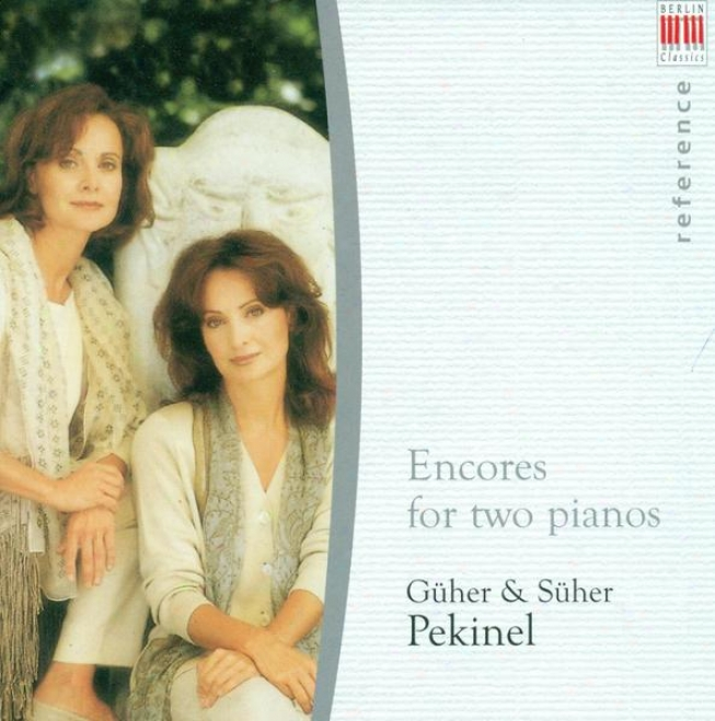 Piano Duo Recital: G. Pekijel / S. Pekinel - Liszt, F. / Brahms, J. / Milhaud, D. / Poulenc, F. / Lecuona, E. / Bach, J.s. / Lutos