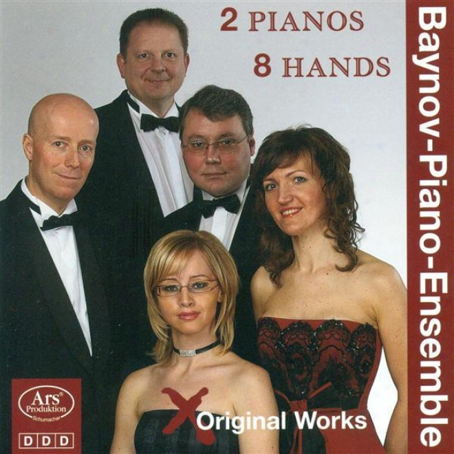 Piano Ensemble Recital: Baynov Piano Ensemble - Gurlitt, C. / Horvath, G. / Smetana, B. /G rainger,-P. / Ikonomov, S. (original 2