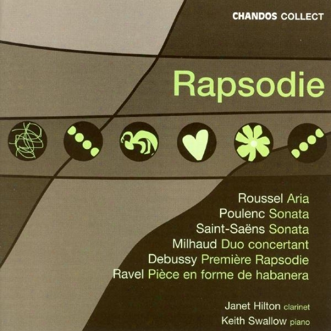 Poulenc / Ravel / Debussy / Saints-aens / Roussel / Milhaud: Works For Clarinet And Piano