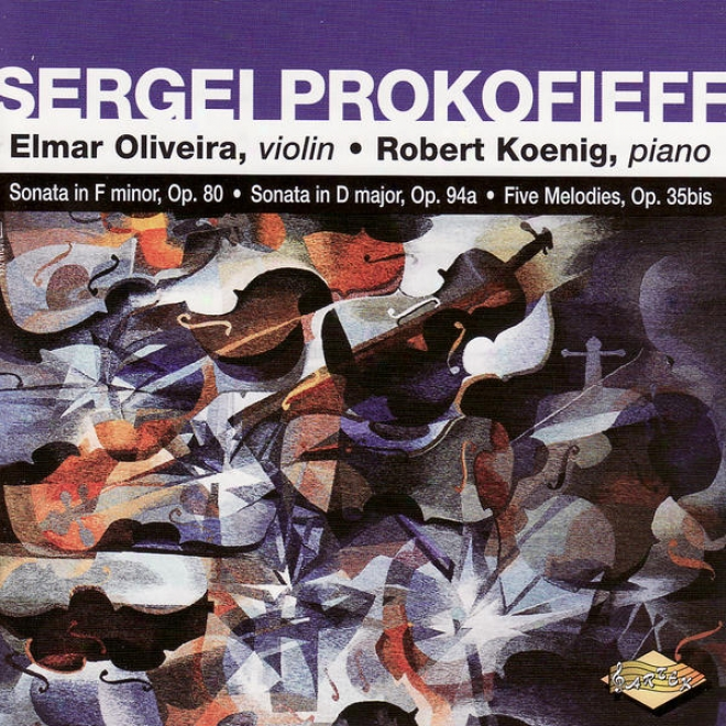 Prokofief: Violin Sonata In F Minor / Violin Sonata In D Major / 5 Melodies
