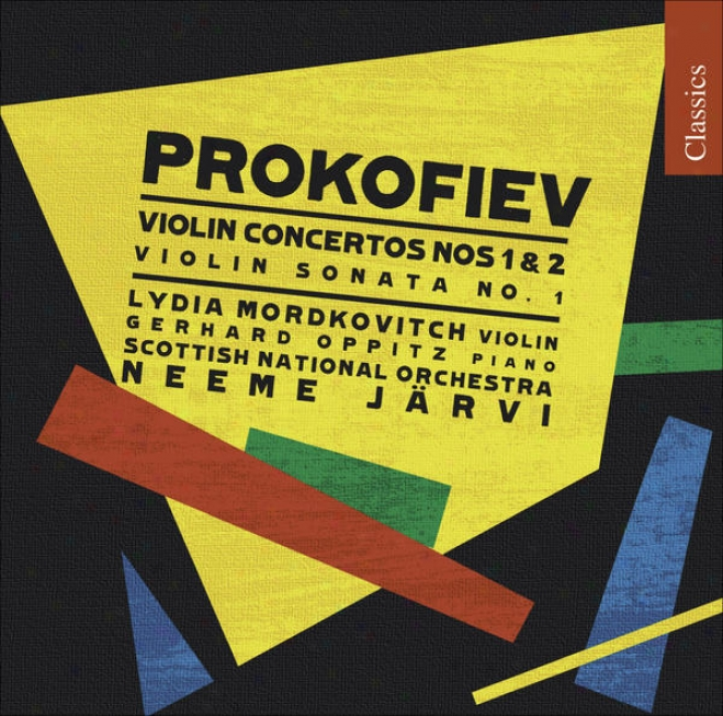 Prokofiev, S.: Violin Concertos Noz. 1 And 2 / Violin Sonata No. 1 (mordkovitch)