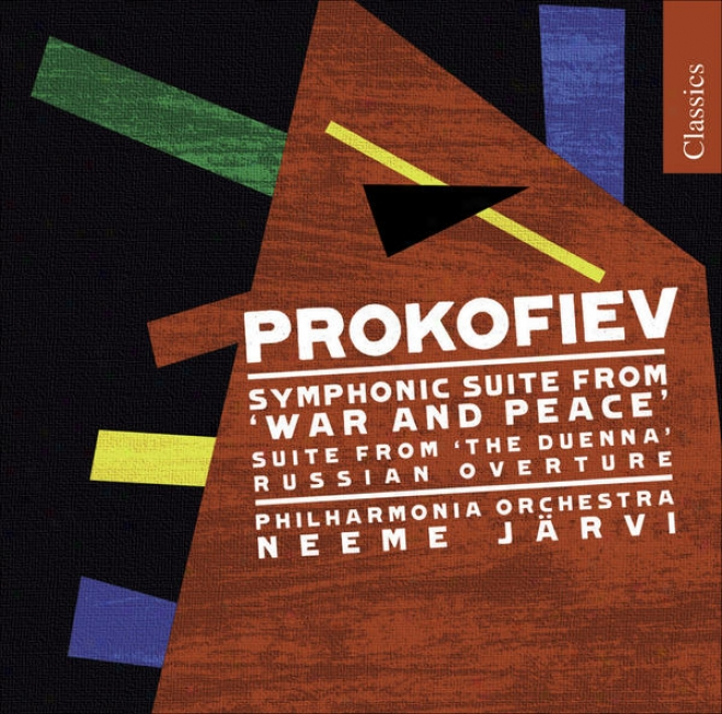 Prokofiev, S.: War And Peace Symphonic Suit e/ Summer Darkness / Russian Ove5ture (philharmonia Orchestra, N. Jarvi)