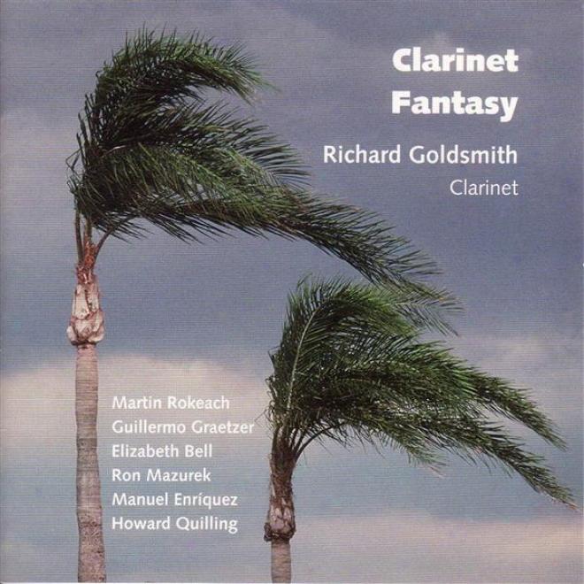 Quilling, H.: Clarinet Sonata / Rokeach, M.: North Beach Rhzpsody / Graetz, G.: Epitafio / Mazurek, R .: Trigrams / Bell, E.: Mille