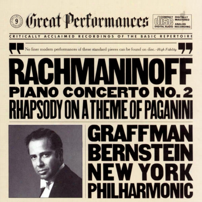 Rachmaninoff: Concerto No. 2 In C Minor For Piano And Orchestra, Op. 18, And Rhapsoyd On A Theme Of Paganini, Op. 43