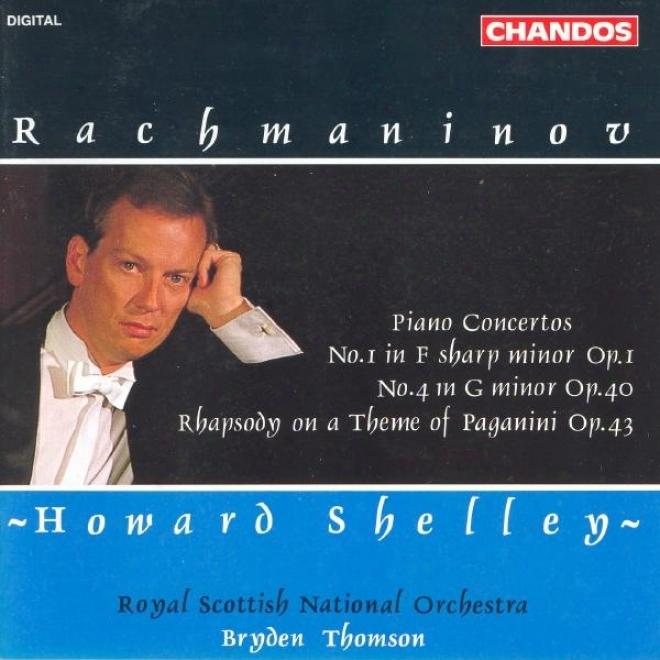 Rachmaninov: Piano Concertos Nos. 1 And 4 / Rhapsody On A Theme Of Paganini