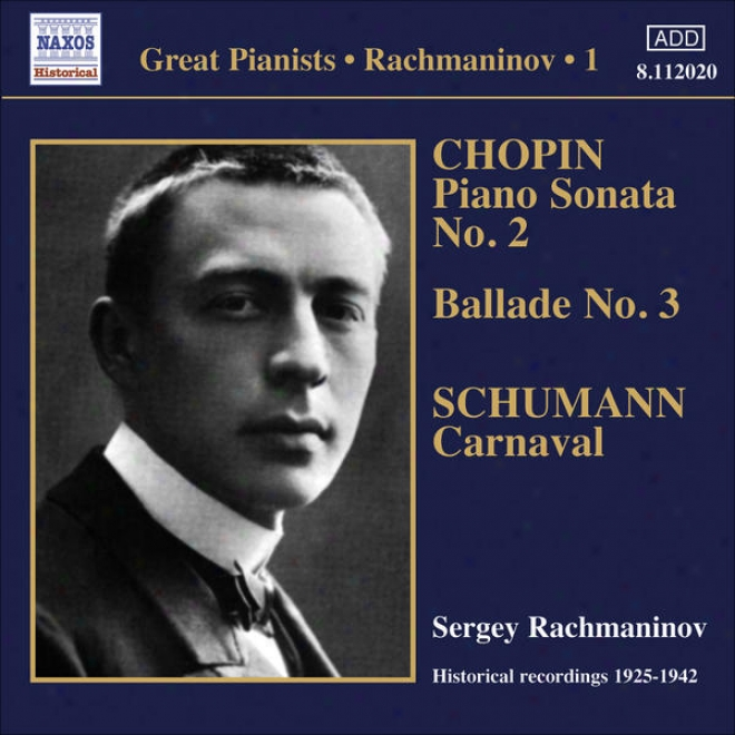 Rachmaninov, Sergei: Piano Solo Recordings, Vol.  1 - Victof Recordings (1925-1942)