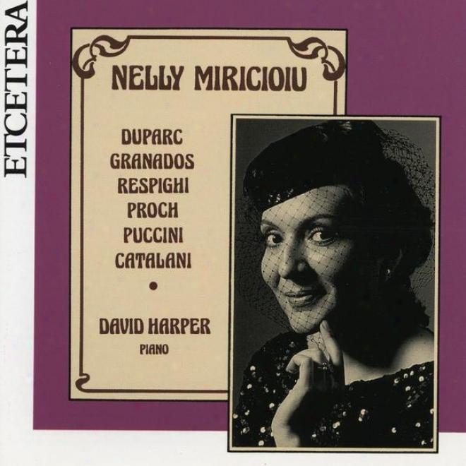 Recital At Wigmore Hall, Live, Duparc, Granados, Respighi,, Proch, Puccini, Catalani