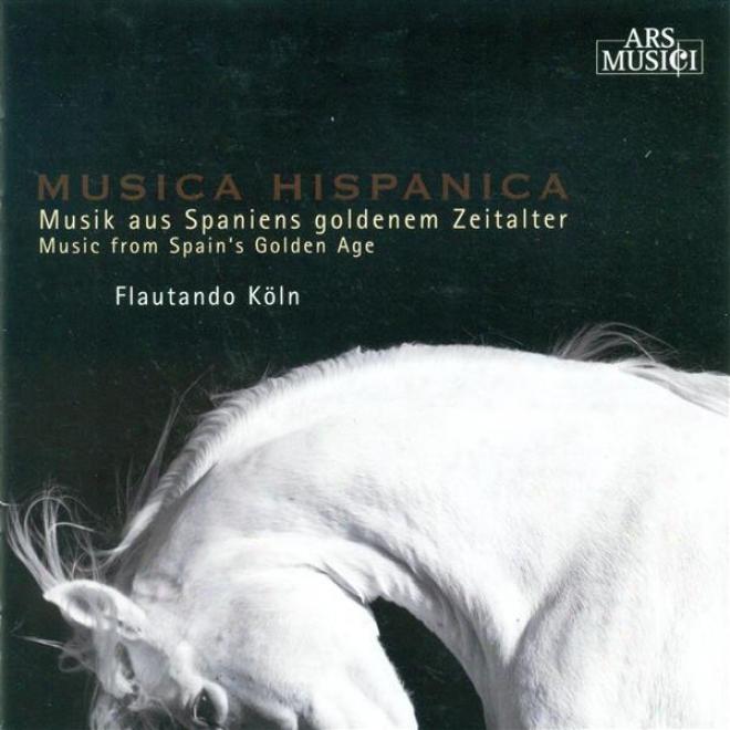 Recorder Music (spanish) - Ortiz, D. / Escobar, P. De / Ponce, J. / Festa, C. / Cabezon, A. De