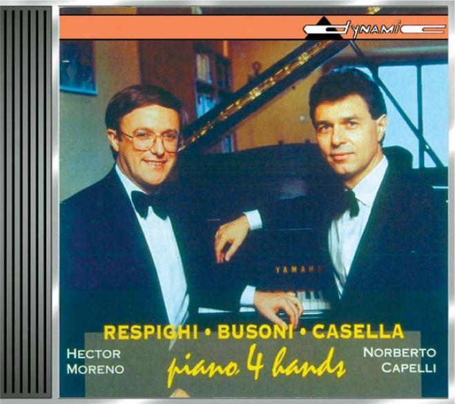 Respughi: Suite Della Tabacchiera / Fontane Di Roma / 6 Pezzi Per Bambini / Busoni: Finnlandische Volksweizen / Casella: Pagine Di