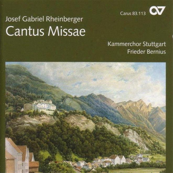 Rheinberger, J.g.: Mass In E Flat Major / Wie Lieblich Sind Dejne Wohnungen / Stabat Mater / 5 Hymnen / Abendlied (stuttgart Chamb