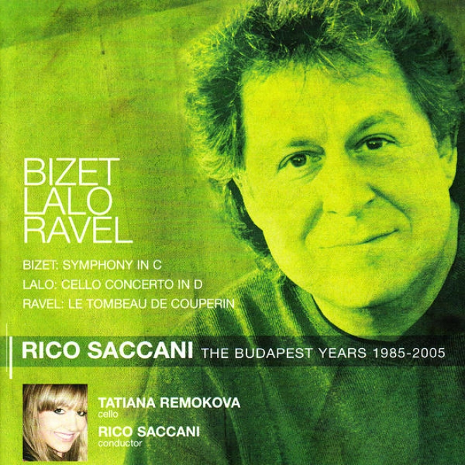 Rico Saccani And The Budapest Philharmonic Orchestra Perform Bizte, Lalo, & Ravel