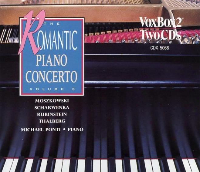 Romantic Piano Concerto, Vol. 3 (moszkowsoi / Scharwenka / Rubinstein / Thalberg)