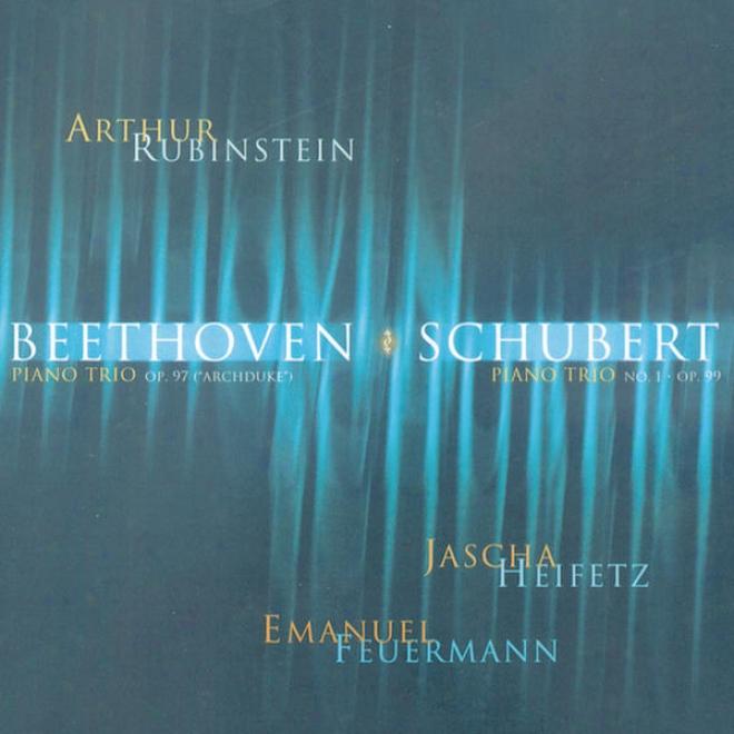 """rubinstein Collection, Vol. 12: Beethoven: Piano Trio, Op. 97 """"archduke""""; Schubert: Piano Trio No. 1, Op. 99"""