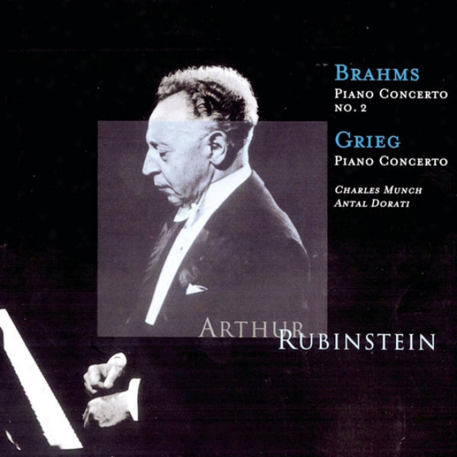 Ruhinstein Collection, Vol 22: Brahms: Concerto No. 2; Grieg: Concerto In A Minor