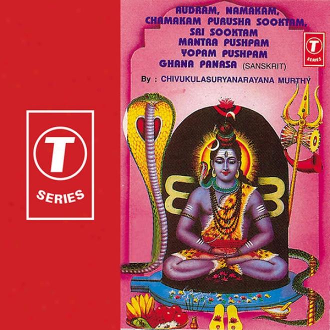 Rudram, Namakam, Chamakam Purusha Sooktam, Sai Sooktamm Mantra Pushpam Yopam Pushpam Ghana Pasana