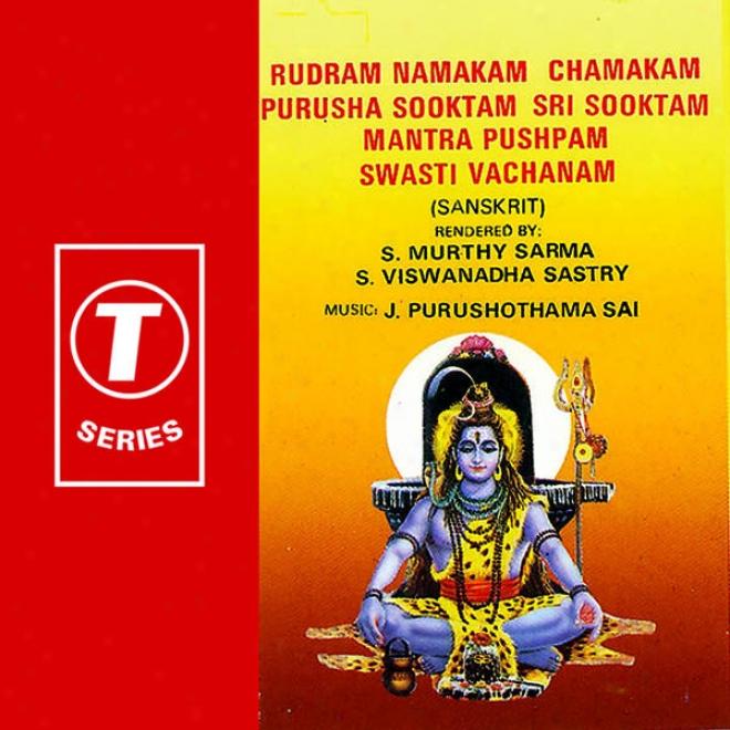 Rudram Namakam Chanakam Purusha Sooktam Sri Sooktam Mantra Pushpam Swati Vachanam