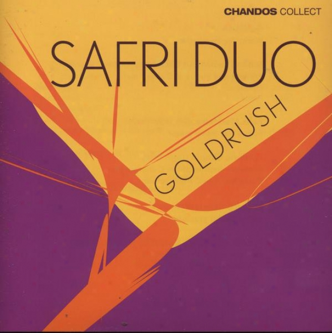"""safri Duo:  """"goldrush"""" - Melody By Bach, Mendelssohn, Chopin, Ravel Arranged For Percussiom"""