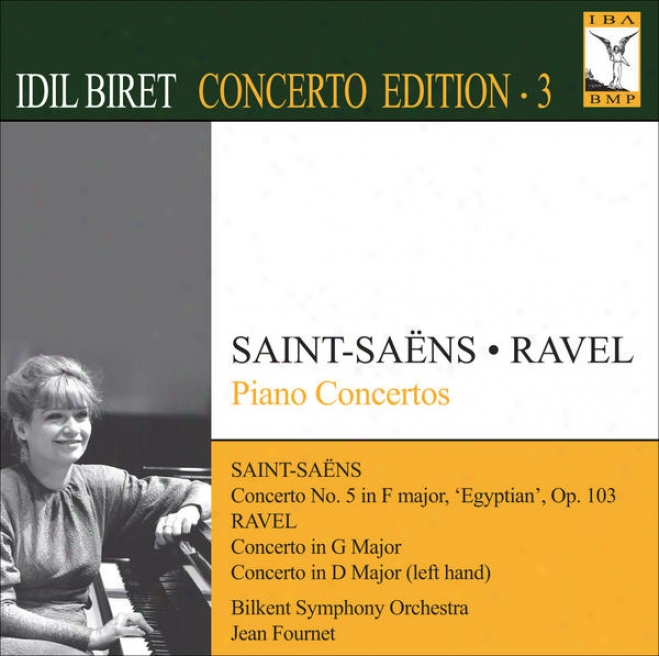 Saint-saens, C.: Piano Concerto No. 5 / Ravel, M.: Piano Concerto In G Major / Pkano Concerto For The Left Hand (biret Concerto Ed