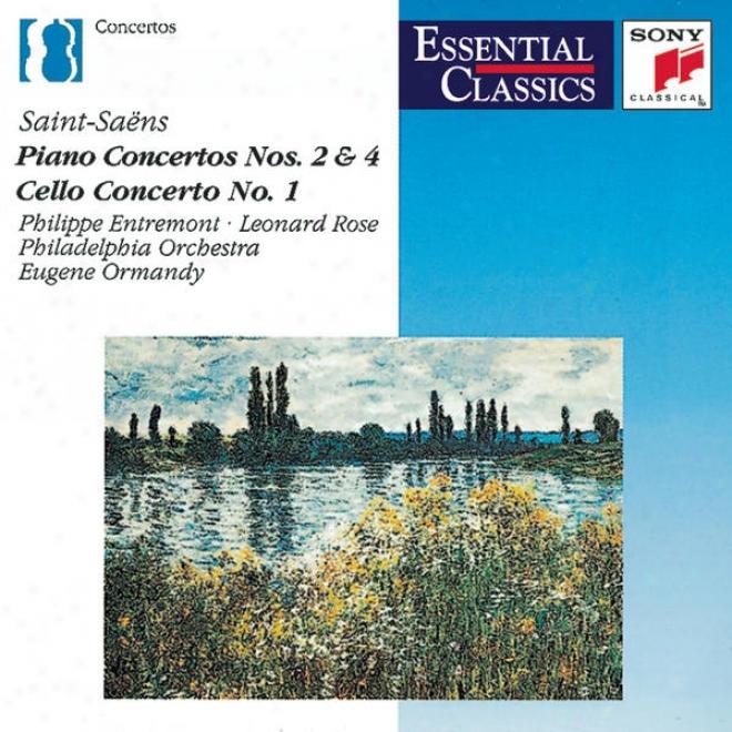 Saint-saã«n: Piano Concertos Nos. 2 & 4, Cello Concerto, Introduction And Rondo Capriccioso