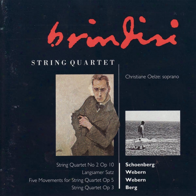 Schoenberg: String Quartet No. 2 - Webern: Langsamer Satz, Fiive Movements For Cogent Quartet, Et Al.