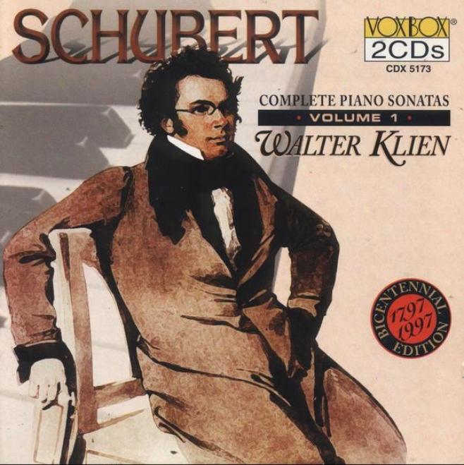 Schubert: Complete Piano Sonatas Vol. 1 - Sonatas Nos. 6, 9, 1-16, 18-19 (klien)