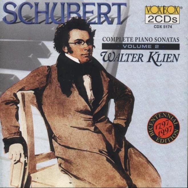 Schubert: Complete Piano Sonatas Vol. 2 - Sonatas Nos. 1-2, 13-14, 17, 20 (klien)