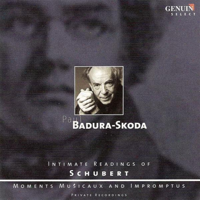 Schubert, F.: 6 Moments Musicaux / Allegreto, D. 915 / Impromtus, Opp. 90 And 142 (badura-skodda)