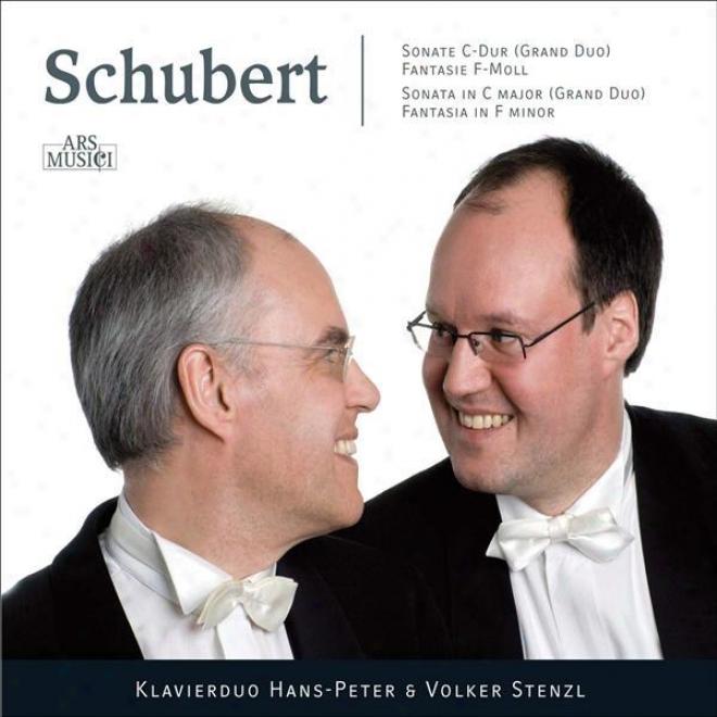 """schubert, F.: Sonata For Piano 4 Hands, """"grand Duo"""" / Fantasie, Op. 103 (stenzel Piano Duo)"""