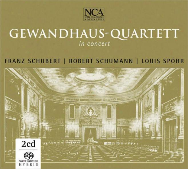 """schubert, F.: String Quintet / Piano Quintet, """"trout""""/ Spohr, L.: Concerto For String Quartet / Schumann, R.: Piano Quintet (gewan"""