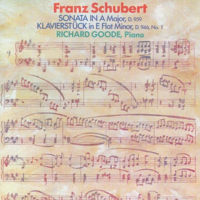 Schubert: Sonata In A Major, D. 959 / lKavierstuck In E Flat Minor, D. 946, No. 1