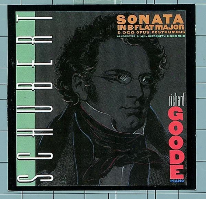 Schubert: Sonata In B-flat Major D. 960 / Allegretto In C Minor, D. 915 / Impromptu In A-flat, D. 935, No. 2