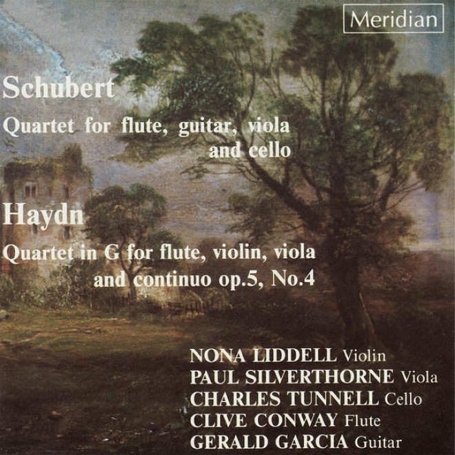Schubert: Wuartet Because Flute, Guitar, Tenor-viol And Cello - Haydn: Quartet In G For Flute, Violin, Viola And Continuo