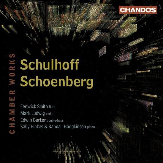 Schulhoff, E.: Flute Sonata / Concertino / Schoenberg, A.: Wind Quintet (arr. For Flute And Piano)