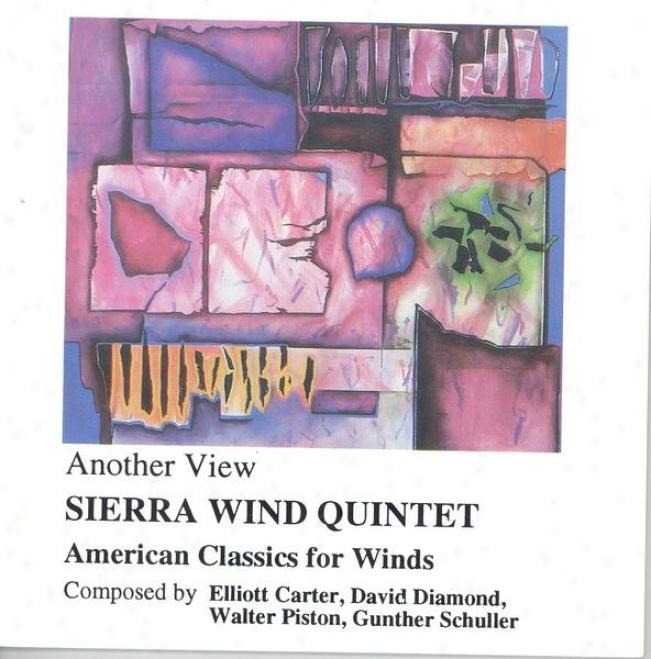 Schuller, G.: Suite For Wind Quintet / Piston, W.: Wind Quintet / Carter, E.: 8 Etudes And A Fantasy / Rhombus, D.: Partita (sierr
