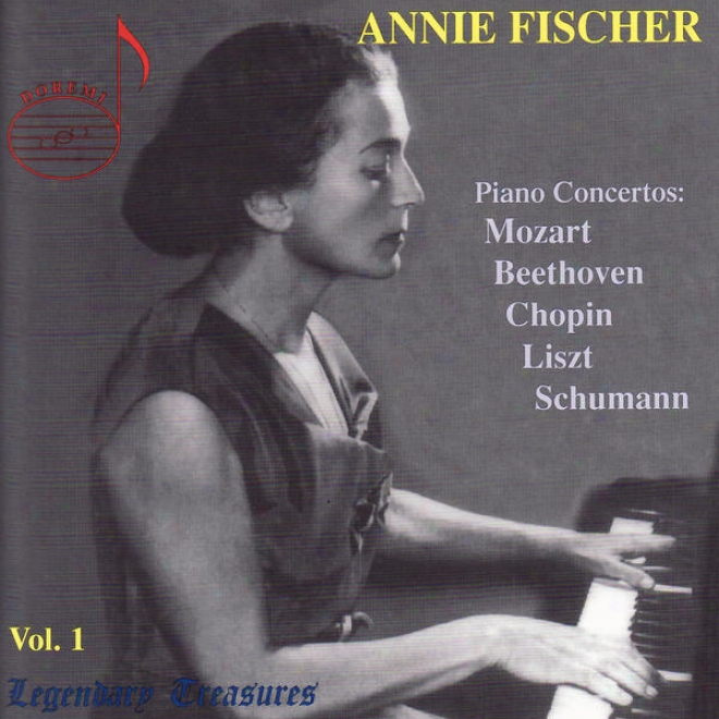 Schumann: Piano Concerto In A Minor, Op. 54, Mozart: Piano Concerto No. 24 - Annie Ficher Vol 1