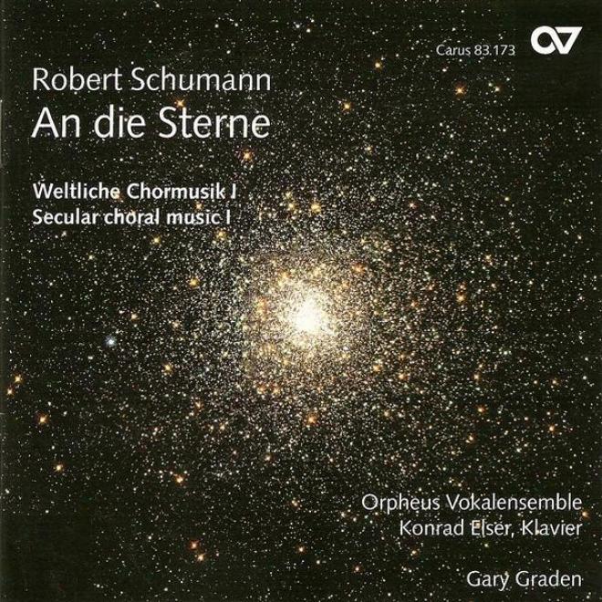 Schumann, R.: Secular Choral Music, Vol. 1 - Spanisches Liederspiel / 4 Doppelchorige Gesange (orpheus Vocal Ensemble)