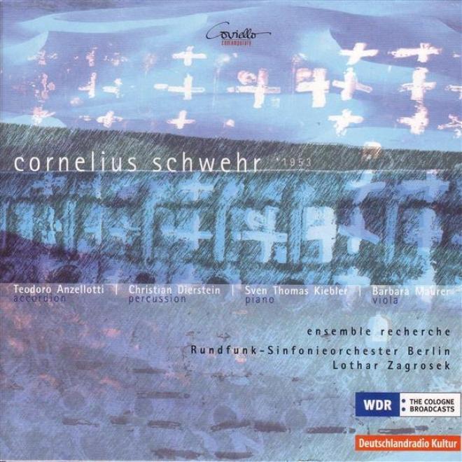 Schwehr, C.: A Nous Deux / Aus Den Kamalattanicshen Liedern / Innen Und Aussen / Wie Bei Bogen Und Leeier (zagrosek)