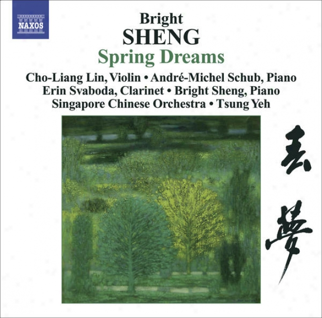 Sheng, Bright: Spring Dreams/ Three Fantaaies For Violin And Piano/ Tibetan Dance